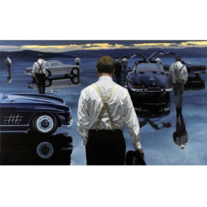 Gathering by Iain Faulkner - LOW STOCK-Mounted