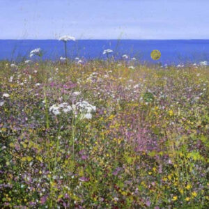 Hogweed And Campion by Paul Evans-Mounted