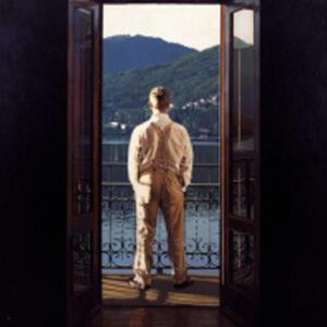 Lake Como by Iain Faulkner-Mounted