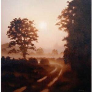 Lane To the River by John Waterhouse