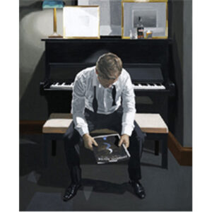 Moon River by Iain Faulkner - SOLD OUT-Mounted