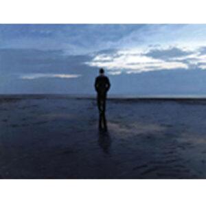 Solitude by Iain Faulkner-Mounted