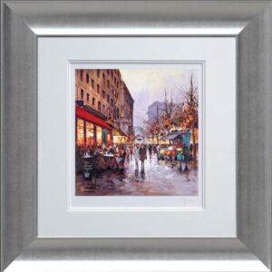 flower-stall-paris-framed